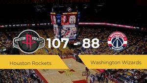 Triunfo de Houston Rockets ante Washington Wizards por 107-88