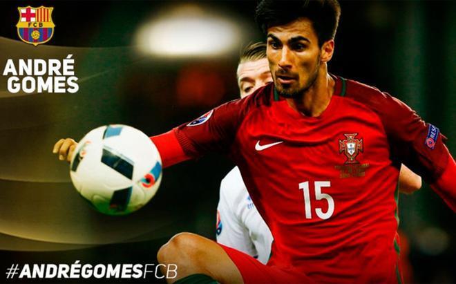 André Gomes, cuarto fichaje del FC Barcelona este verano