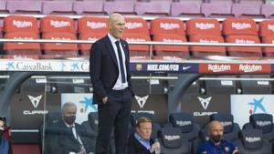 Zidane vuelve a ganar en el Camp Nou