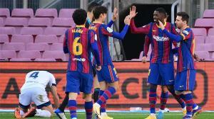 El VAR anuló el gol a Dembélé