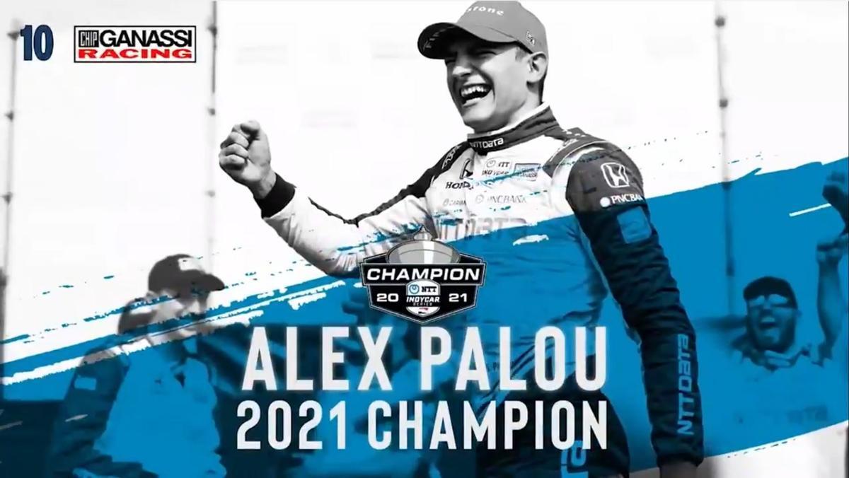 Alex Palou se proclama campeón 2021 de la IndyCar