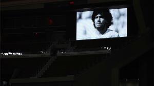 Se guardó un minuto de silencio por Maradona en todos los encuentros