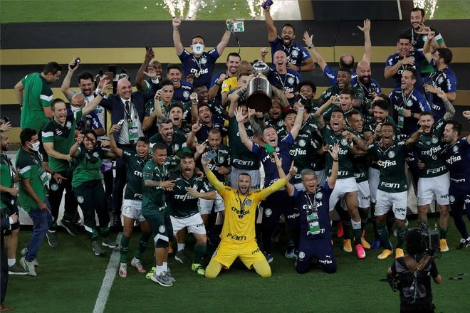 El Palmeiras, el campeón de la última edición de la Copa Libertadores