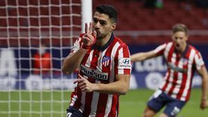 Suárez celebró su cumpleaños marcando