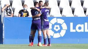 El resumen del partido entre el Leganés y el Valladolid