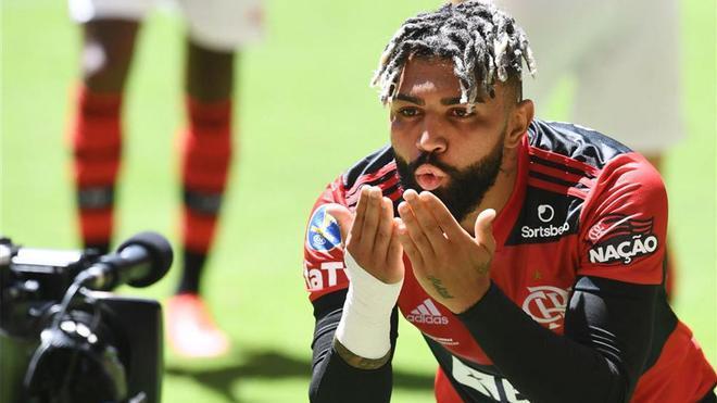Gabigol, una vez más fue decisivo en una final del Flamengo