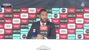 Sergio Ramos: ¿Ir al Barça? Rotundamente, no