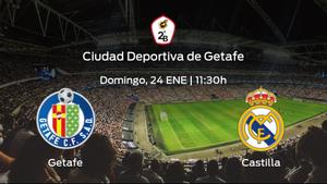 Jornada 11 de la Segunda División B: previa del encuentro Getafe B - RM Castilla
