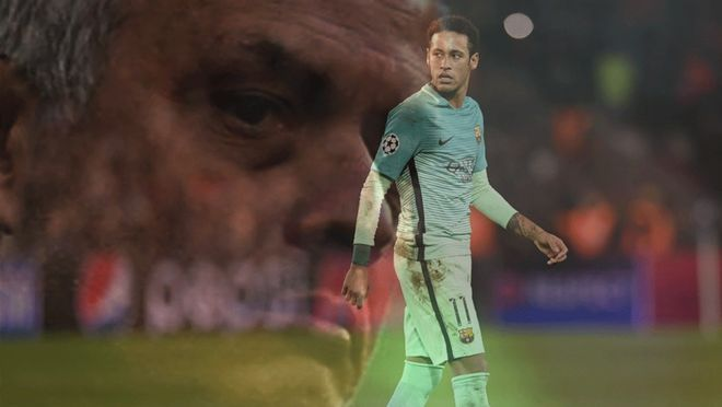 Mourinho acosa a Neymar
