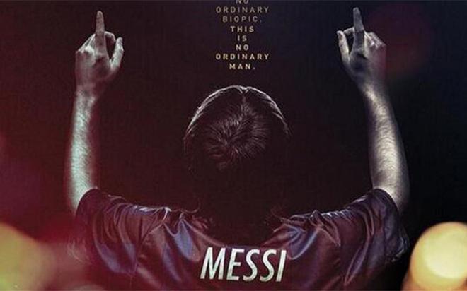 Cartel de la película Messi, dirigida por Álex de la Iglesia