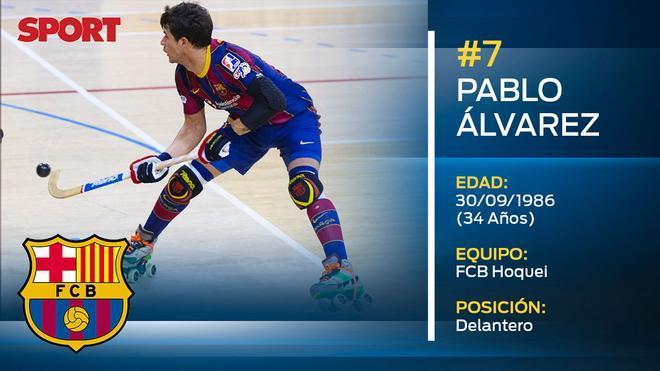 Pablo Álvarez (FC Barcelona hoquei)