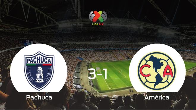 El Pachuca se adelanta en el encuentro de ida de cuartos de final después de vencer 3-1 frente al América