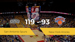 Triunfo de San Antonio Spurs ante New York Knicks por 119-93
