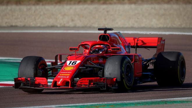 Ferrari, de test en Imola