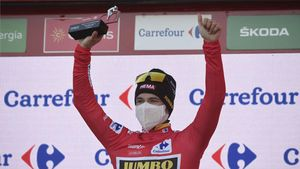 Roglic, líder de la clasificación general de la Vuelta
