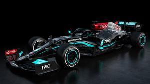 El nuevo monoplaza de Mercedes, W12