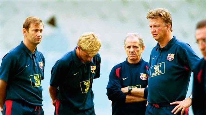Van Gaal habló de su etapa como entrenador del Barça