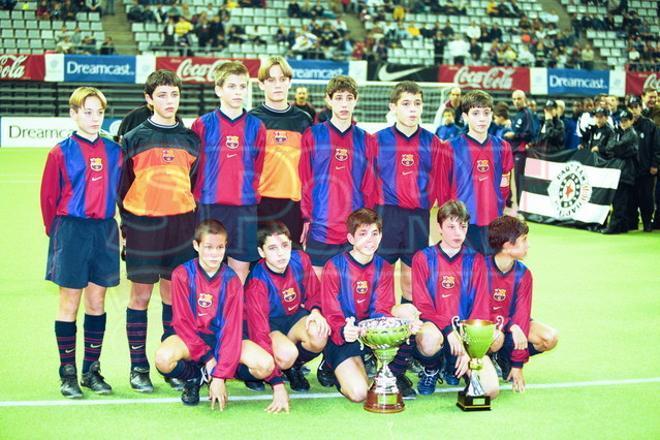 7. Gerard Piqué 1999-2000