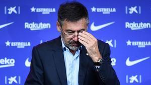 Josep Maria Bartomeu está confinado preventivamente por el coronavirus Covid-19