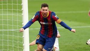 Lionel Messi, elegido mejor jugador del mes de febrero en la Liga