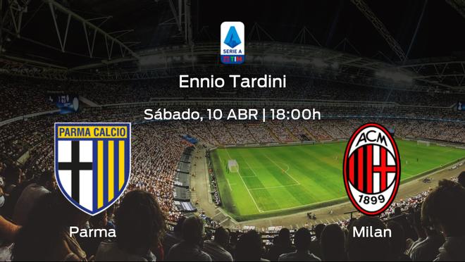 Previa del encuentro: el Parma recibe al AC Milan