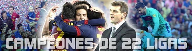 El Barça suma 22 título en la Liga española