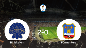 El Binissalem consigue la victoria frente al Formentera (2-0)