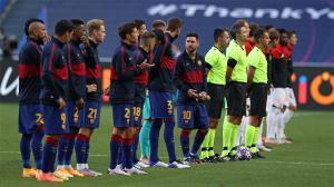 El 1x1 del Barça ante el Bayern