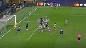 Ver para creer: así se autoeliminó el Inter de la Champions en el minuto 90