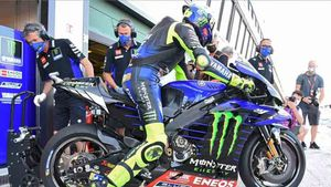 Rossi fue el más rápido en los terceros libres de MotoGP
