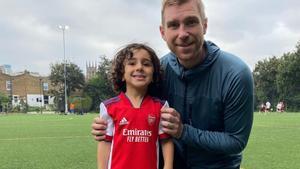 Niño Arsenal 4 años