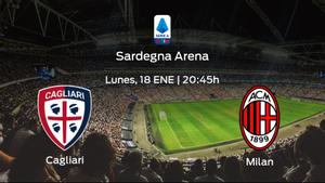 Previa del partido: el AC Milan defiende su liderato ante el Cagliari