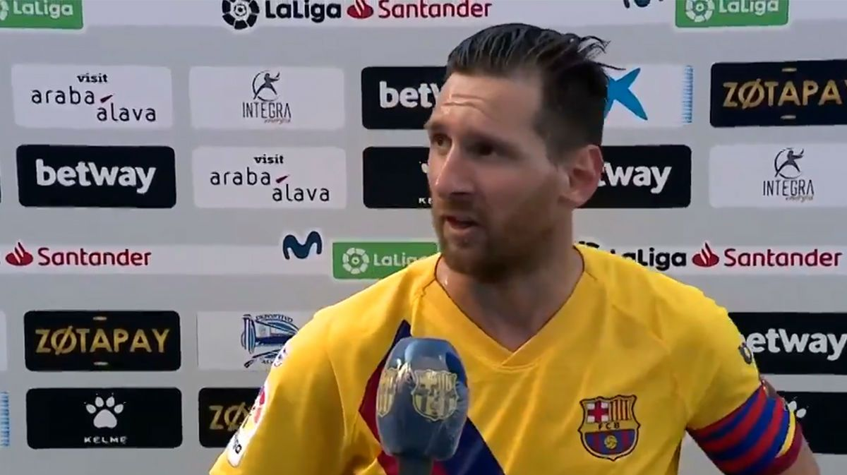 Messi: La actitud del equipo es el ejemplo a seguir