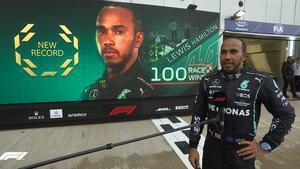 Hamilton, histórico en el GP de Rusia