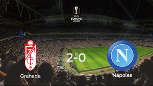 El Granada se pone por delante en su primer duelo de dieciseisavos de final después de ganar 2-0 contra el Nápoles