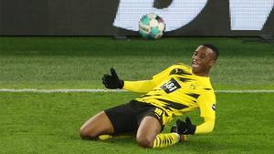 Con solo 16 años sigue asombrando en la Bundesliga: así fue el golazo de Moukoko al Hertha