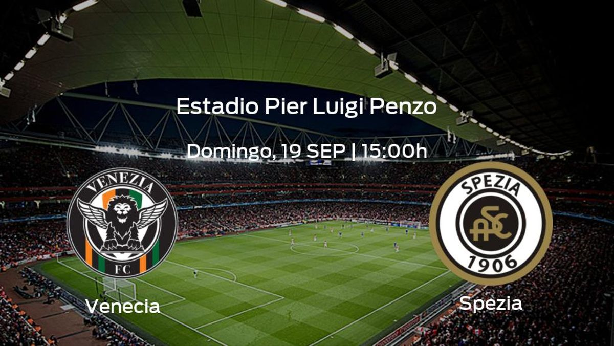 Previa del encuentro de la jornada 4: Venecia - Spezia Calcio