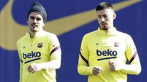 Umtiti hace trabajo específico; Rakitic es baja con permiso del Barça