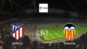 Mission accomplished for Atlético Madrid as they secure a 3-1 home win against Valencia