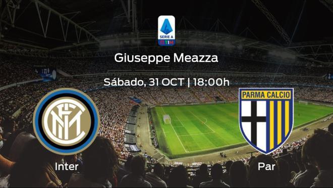 Previa del encuentro: el Inter recibe al Parma en la sexta jornada