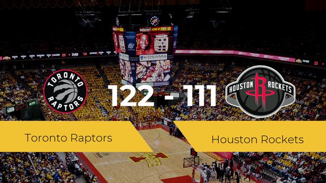 Toronto Raptors derrota a Houston Rockets (122-111)