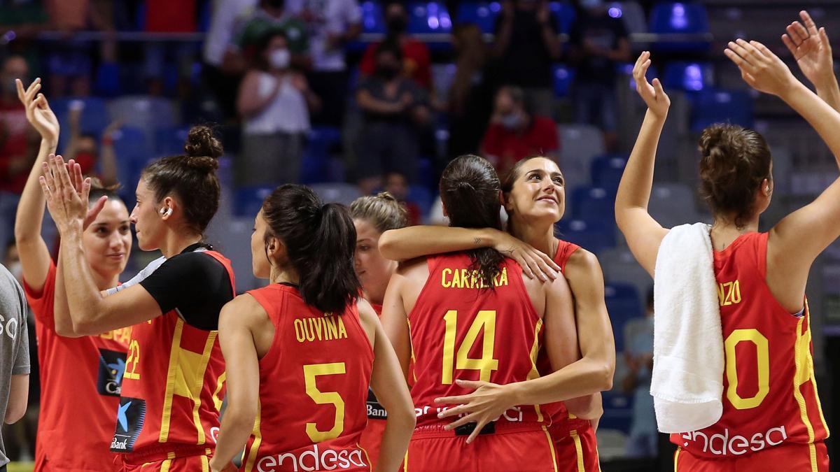 La selección española de baloncesto femenino durante los Juegos Olímpicos de Tokio 2020