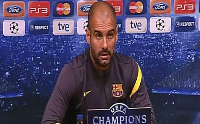 Guardiola: Tengo la impresión de que el Milan marcará