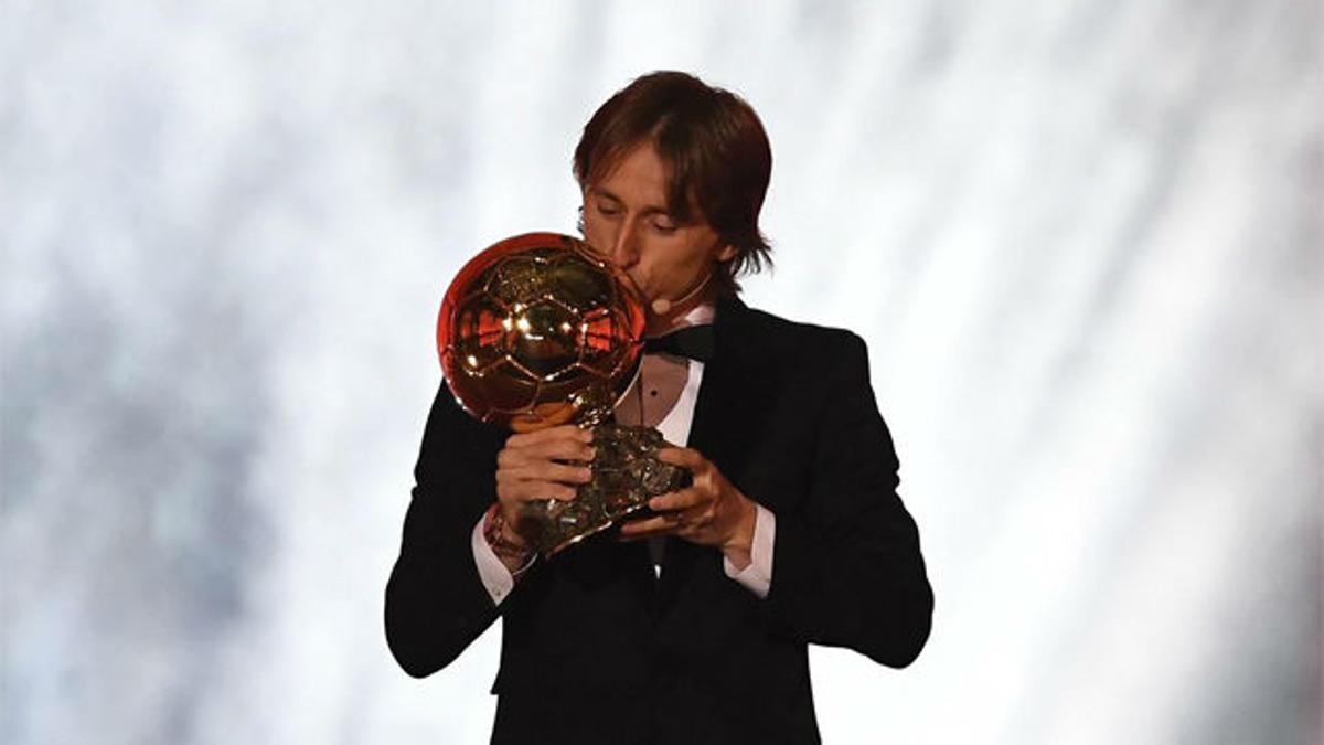 Luka Modric, ¡Balón de Oro 2018!