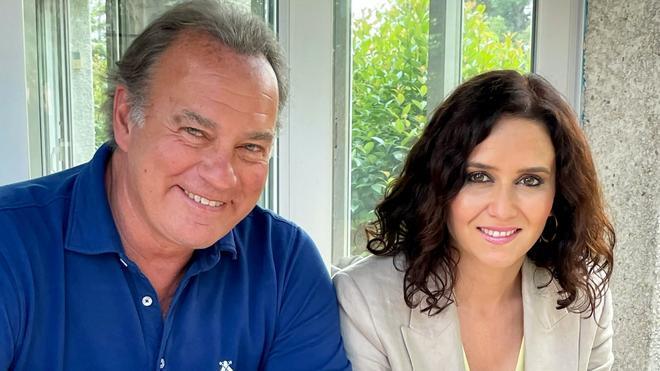 Bertín Osborne e Isabel Díaz Ayuso, nueva invitada de Mi casa es la tuya