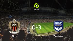 El FC Girondins Burdeos golea en el estadio del OGC Niza (0-3)