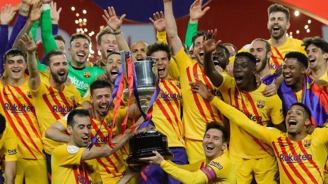 El FC Barcelona, campeón de la Copa del Rey 2020-21