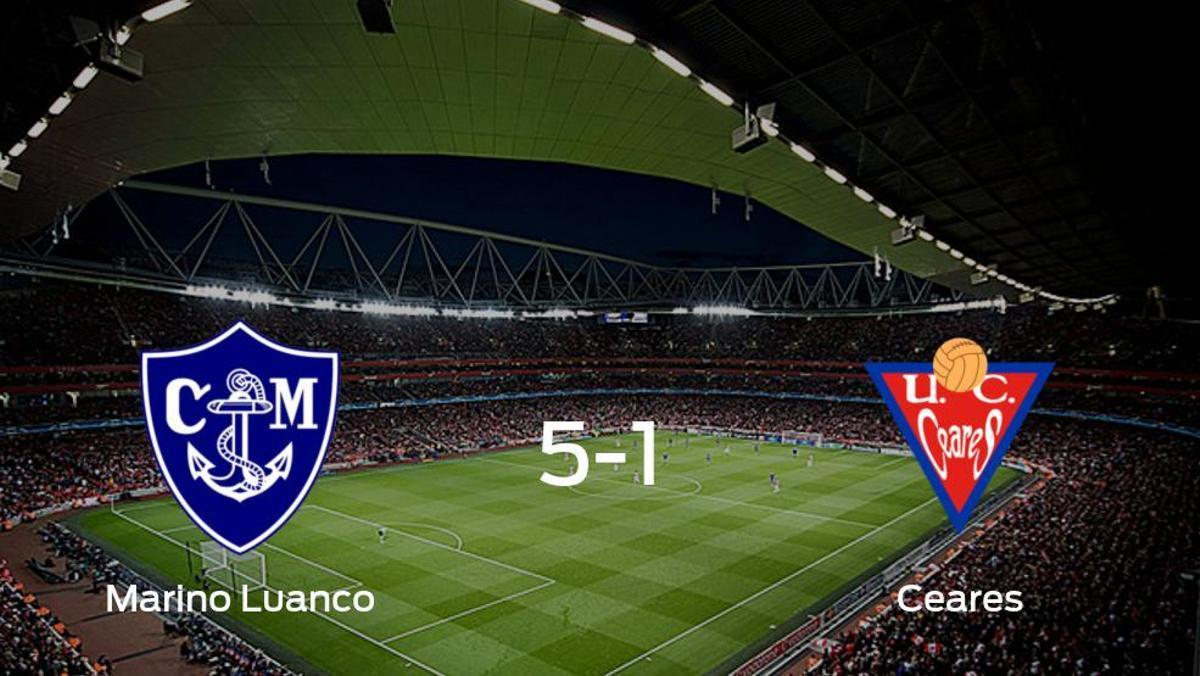 El Marino Luanco se queda con los tres puntos ante el UC Ceares (5-1)