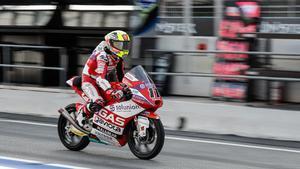 Sergio García Dols, campeón de Moto3 en el Circuit