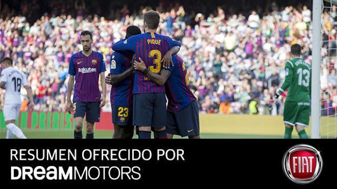 Así fue el triunfo del Barça más práctico ante el Getafe